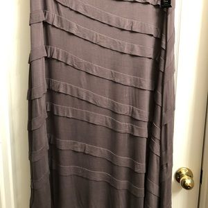 NEW INC International Concepts Maxi Skirt Size 3X